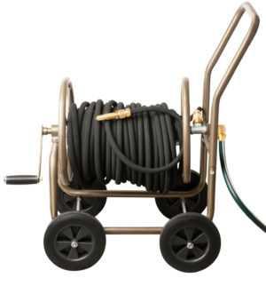UPP Schlauchwagen Deluxe mit Schutzhülle Gartenschlauchwagen Schlauchaufroller