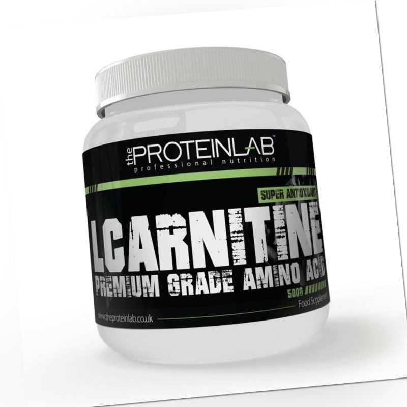 L-Carnitin 100% Premium Klasse Aminosäure Super Antioxidans 500g
