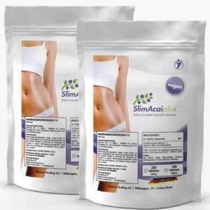 2x 250 Tabletten - Slim Acai Plus (Vegan) - Detox Berry Diät Fettverbrennung