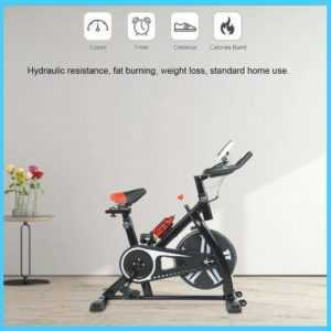 Heimtrainer Fitnessbike Fitnessfahrrad Fahrrad Trimmrad bis 120 kg Einstellbarer