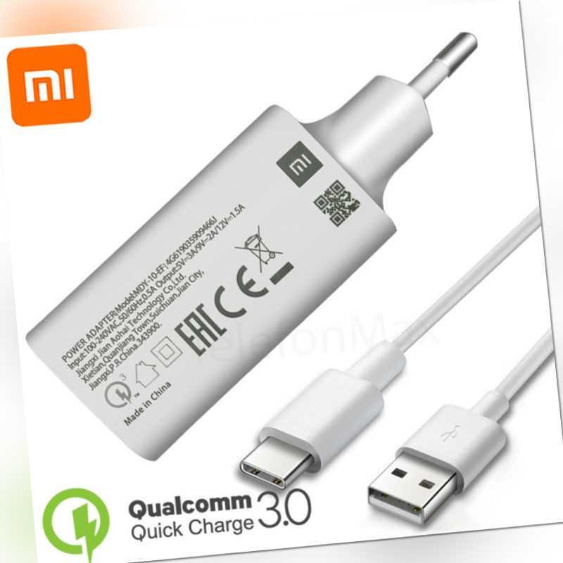 Original Xiaomi Redmi Note 8/7 Pro Power 18W Schnellladegerät Netzteil Ladekabel