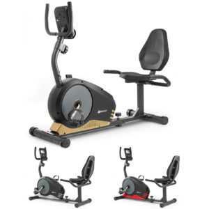 Hop-Sport Root Liege-Ergometer Liegeheimtrainer mit Pulssensoren Sitzergometer
