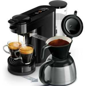 Philips Senseo HD6591 / 69 Switch 2-in-1 Kaffeemaschine schwarz