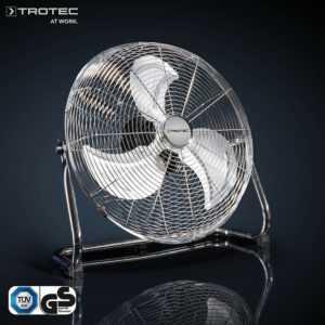 TROTEC TVM 18 Bodenventilator, Windmaschine, 100 Watt, 3 Stufen, 45 cm