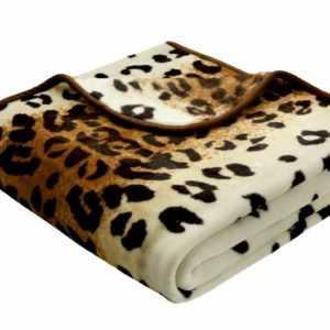 Bocasa Wohndecke Simply Luxury, Dessin Leopard , verschiedene