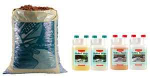 CANNA Hydro Set 45L Canna Aqua Clay Pebbles + Hydro Vega + Flores A