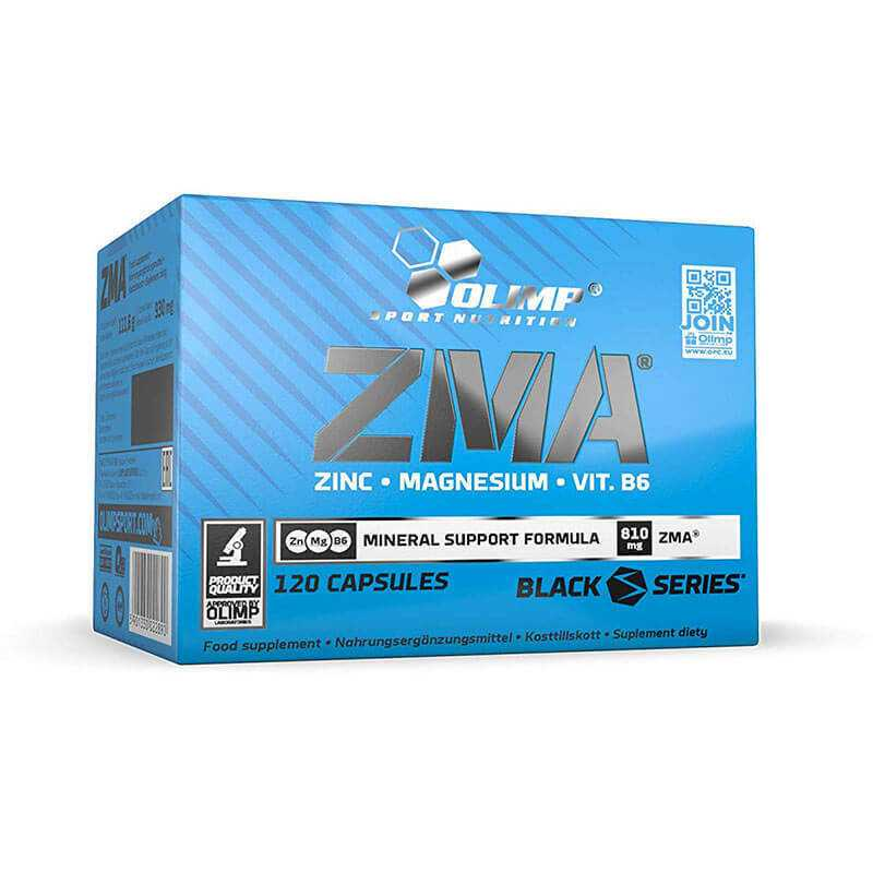 (20,63 EUR/100 g) Olimp Sport Nutrition ZMA 120 Kapseln Zuckerfrei Glutenfrei