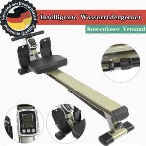 Rudermaschine Rudergerät Ruderzugmaschine Fitness Trainingscomputer FE 02