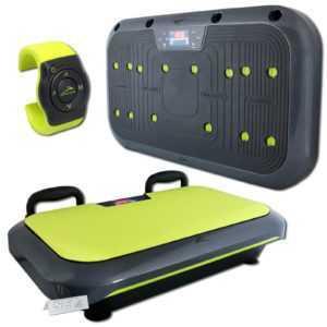 Vibrationsboard Vibrationsplatte Fitnessplatte 5 Prg HandyApp Ganzkörpertraining