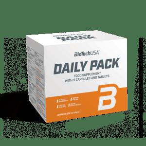 BioTech Daily Pack 30x MSM Mineralien Fettsäuren Traubenkernextrakt Vitamine