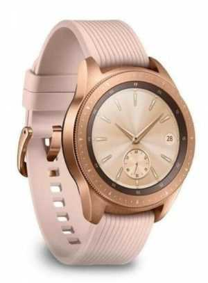 Samsung SM-R815F Galaxy Watch 42mm rosegold LTE Schutz gegen Strahlwasser