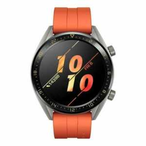 Huawei Watch GT 46mm Smartwatch Fitnesstracker Orange Herren Uhr Sport GPS NEU