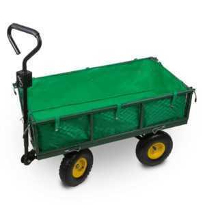 Handwagen Bollerwagen Transportwagen mit Anhängerkupplung 300 kg Tragkraft