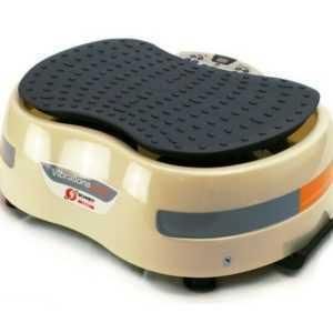 Fitness-Heimtrainer Vibrationsplatte VIB 18_16 cremeweiß (1B-Ware)