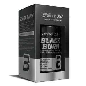 BioTech USA - Black Burn, 90 Kapseln - Diät, Fettreduktion - Abnehmen