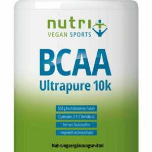BCAA PULVER 500g Neutral Aminosäuren ohne Zusatzstoffe BCAAs Aminos Muskelaufbau