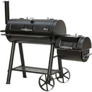 Homestore24 Holzkohlegrill Smoker BUFFALO Grill BBQ Barbecue NEU/OVP
