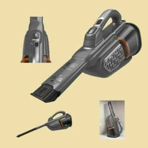 BLACK+DECKER Akkusauger BHHV 520 JF - 18V Dustbuster mit CyclonicAction Li-Ion