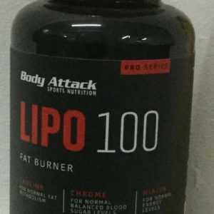 (26,53€/100g)) Body Attack Lipo 100,120 Kapseln L-Carnitin(101g)Fatburner