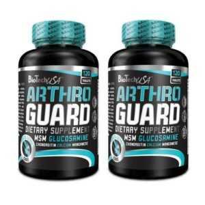 BioTech USAArthro Guard 2 x 120 Tabletten für Gesunde Gelenke Vitalstoff + Bonus