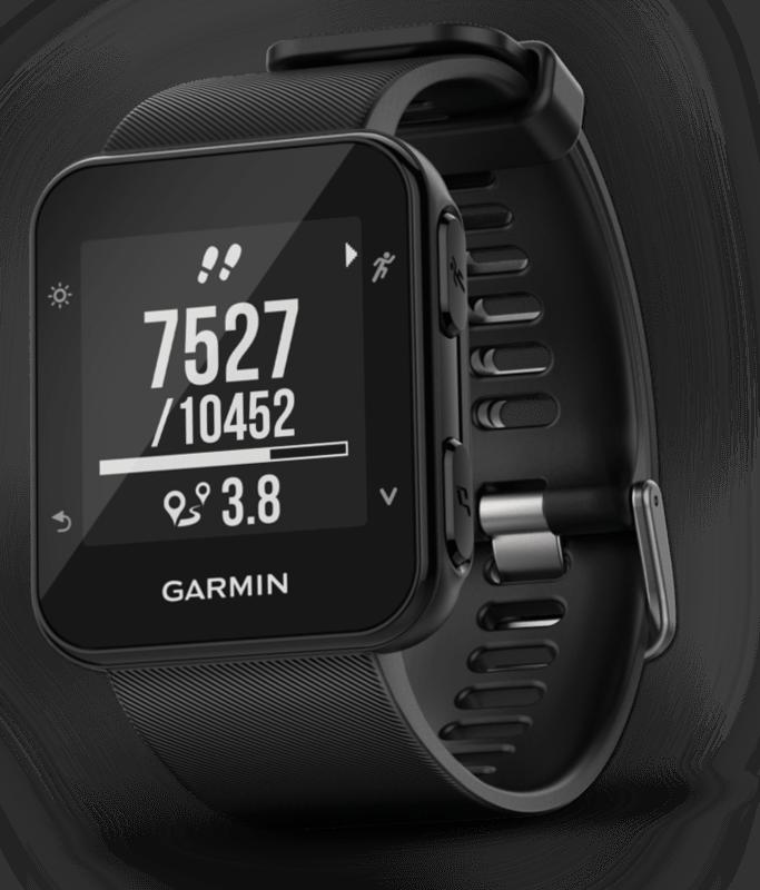 Garmin Forerunner 35 schwarz Herzfrequenzmessung GPS Sport Laufuhr Smartwatch
