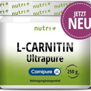 L-CARNITIN Pulver Carnipure® 3000 mg Fitness Abnehmen Diät Ausdauer ohne Zusätze