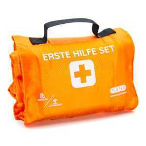 """FLEXEO Erste Hilfe Set """"Explorer"""" - Rolle Tasche - Outdoor Wandern Ski Klettern"""