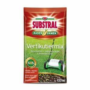 Substral Vertikutiermix 4kg Rasendünger Rasensamen Rasenreparatur Vertikutieren