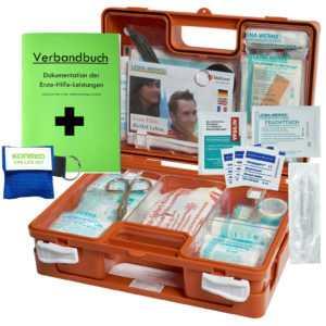 "Erste-Hilfe-Koffer BG mit ""Beatmungshilfe"" DIN 13157 (Betriebe)& DIN 13164 (KFZ)"