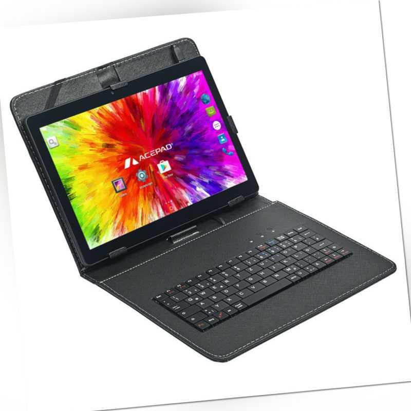 "ACEPAD A12X LTE 10 Zoll (10.1"") 4G Tablet PC, 64GB, 2GB RAM, DualSim, Android HD"
