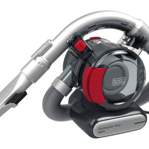 Black+Decker PD1200AV Autostaubsauger Dustbuster Flexi 12 Volt Akku A++ 10 dB