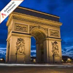 Kurzurlaub Paris 2-4 Tage für 2 Personen modernes Hotel IZZY Gutschein Frühstück