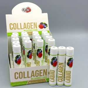 Pure Nutrition COLLAGEN LIQUID Hochdosiert Kollagen Wildbeeren 20x25ml /RR-5774/