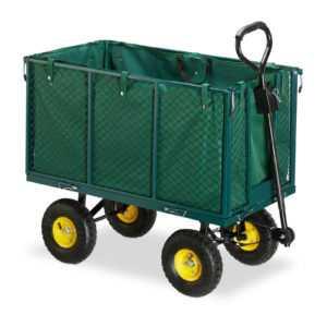 Gartenwagen Gartenkarre 500kg Handwagen XL Bollerwagen Handkarre Transportwagen