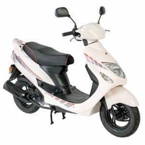 GMX 460 Sport 25 km / h weiß Roller Roller Moped 4 Takt ...