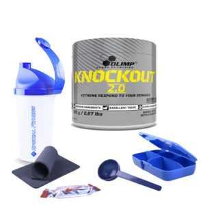 75,08€/kg Olimp Knockout 2.0 Booster Pre Workout Coffein 305g + Bonus