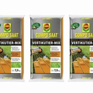 (5,33€/1kg) COMPO SAAT® Vertikutier-Mix 22,5 kg Säen Düngen Rasen Mischung