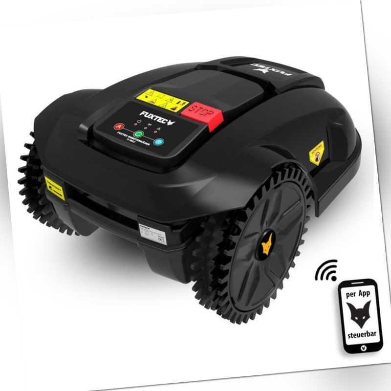 FUXTEC Mähroboter FX-RB122 Rasenroboter Robotermäher Mäher Rasenmäher