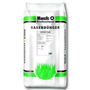 HACK PROFI Rasendünger Organic Finale 25 kg Profidünger Sportplatzdünger