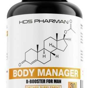 HDS Pharman Body Manager | Männer Fatburner | Abnehmen | Diät Unterstützung
