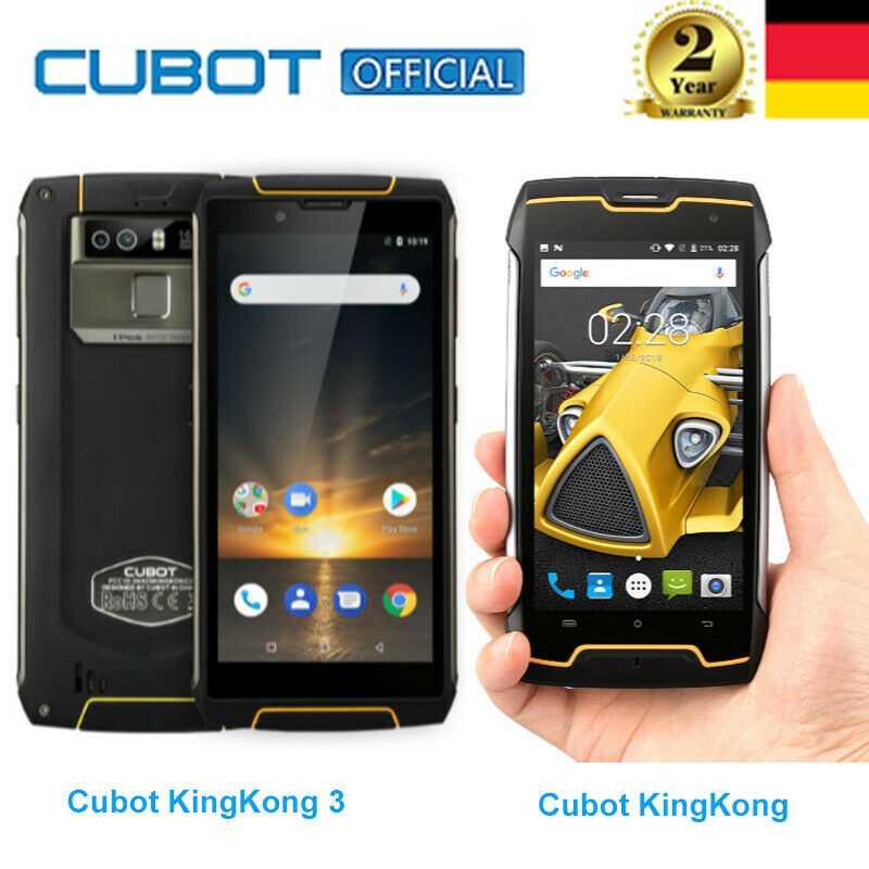 Cubot KingKong/KingKong 3 4G Android OctaCore 2GB+16GB 4GB+64GB Outdoor Handy