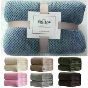 Luxus Fleece Decke Super Weiche Warm Sofa Kuscheldecken Baby
