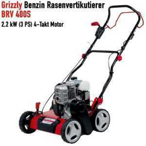 Grizzly Benzin-Vertikutierer BRV 400 S, 2,2 kW, 3 PS