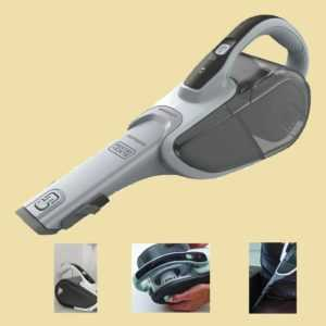 BLACK+DECKER Akkusauger DVJ 215 J - 7,2V Dustbuster mit CyclonicAction Li-Ion