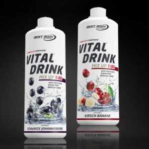 11,00€ /Ltr. Best Body Nutrition Low Carb Vital Drink 2 x 1 Ltr. Mineraldrink