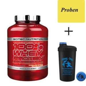 Scitec Nutrition 100% WHEY PROTEIN* PROF 920g + Shaker+Proben