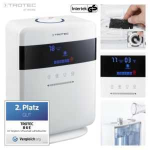 TROTEC Ultraschall Luftbefeuchter B 6 E | Luftreiniger Befeuchter Ionisierer