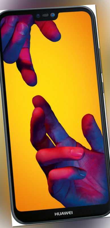 "Huawei P20 lite DualSim schwarz 64GB LTE Android Smartphone 5,84"" Display 16MPX"