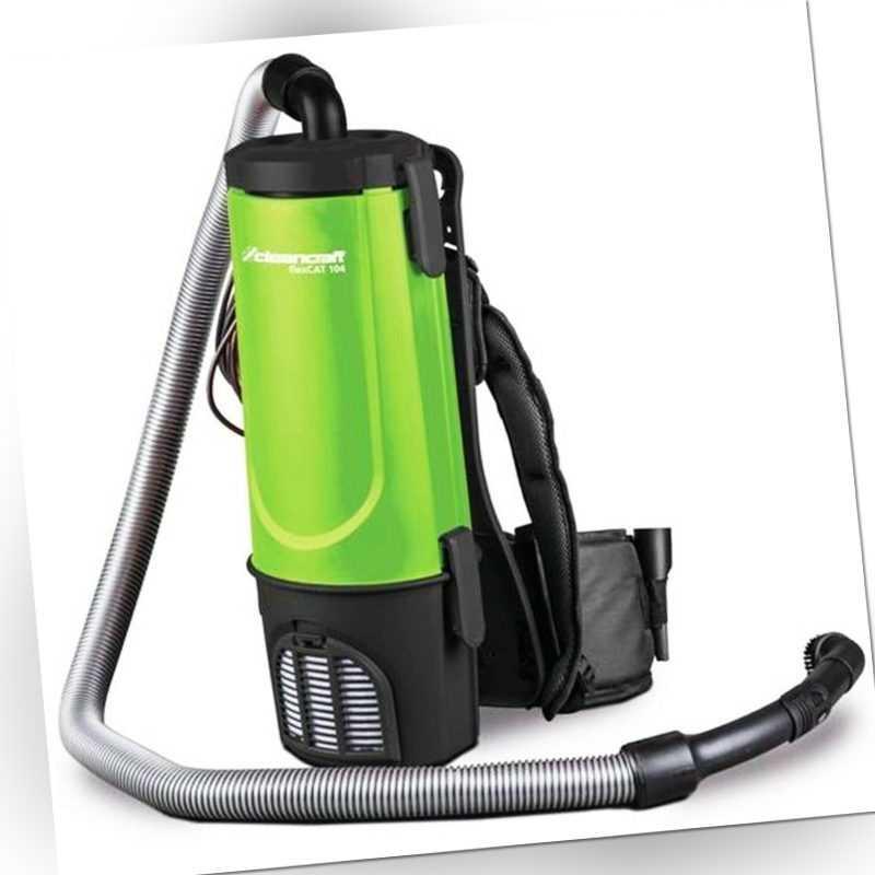 Rucksacksauger Spezialsauger Staubsauger Cleancraft flexCAT 104 Rücken Sauger