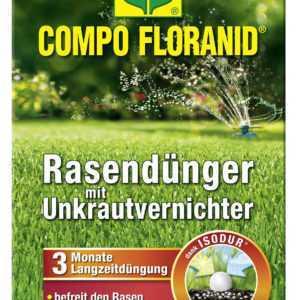 COMPO FLORANID® Rasendünger mit Unkrautvernichter 3 kg für 100 m²